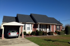 Residential shingle roof by Tri-State Commercial Roofing in Mount Juliet Tennessee