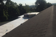 Church roof shingles by TSCR
