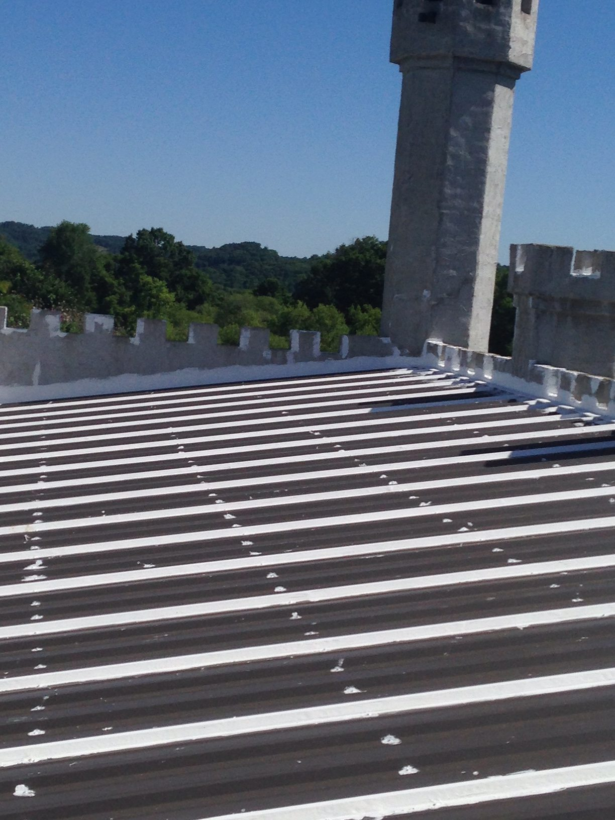 Metal Roof Repair performed by TSCR Nashville Roofing Co